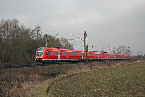 DB 612 027, XXX en 634 Klein Schneen