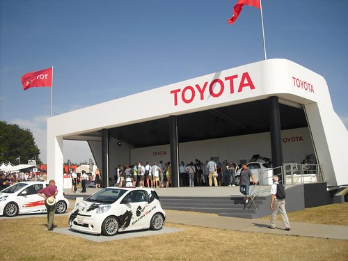 Trade Stands Goodwood Festival Speed : Glorious goodwood toyota at the festival of speed