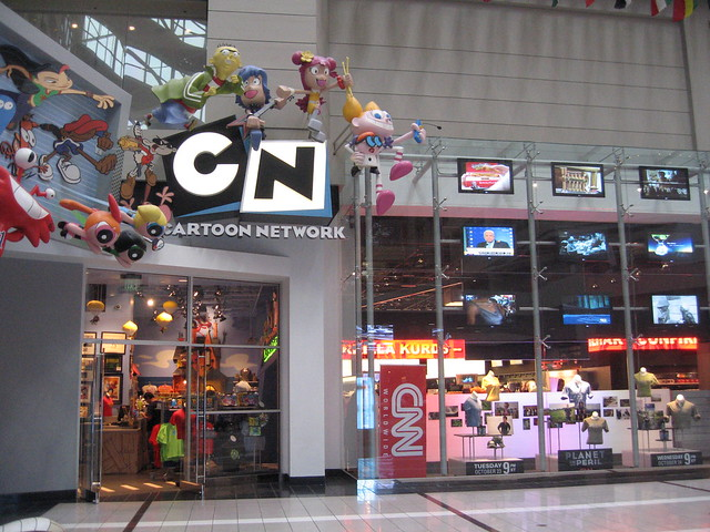 This store is located within the CNN Center, next to the CNN Store; it is actually connected to the CNN Store and you check out at the CNN Store.