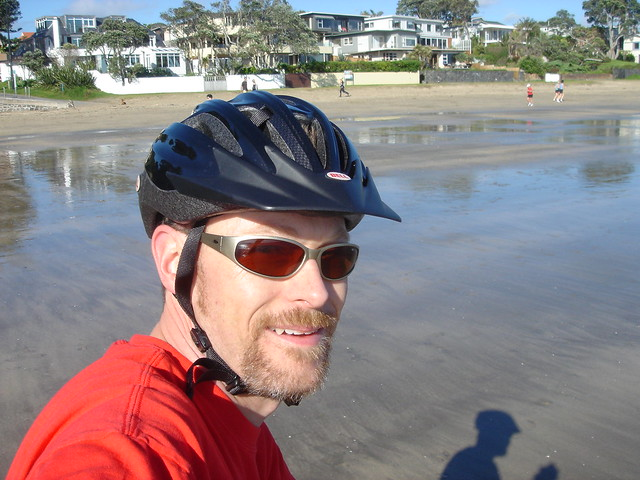 Movember on Takapuna Beach