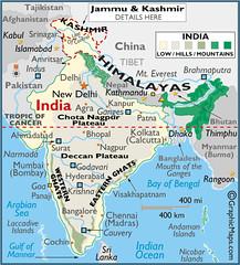 India Nepal Map December 10 2007 December 24 2007 My Flickr