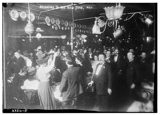 Drinking to the New Year, N.Y. (LOC)