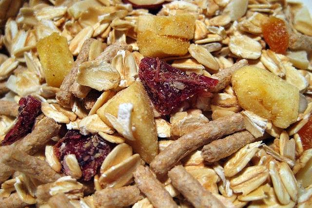 Home-made muesli