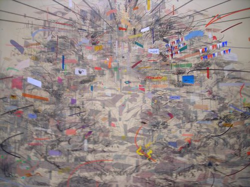 Julie Mehretu Painting