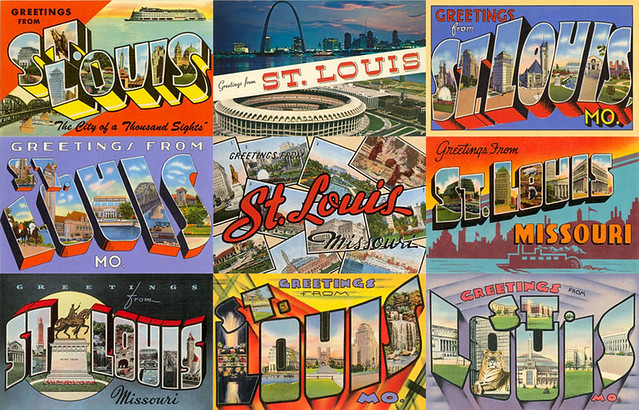 Terms Of Use >> St. Louis Postcards | A collage of vintage St. Louis ...