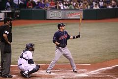Matt LaPorta's 1st game at Tropicana Field