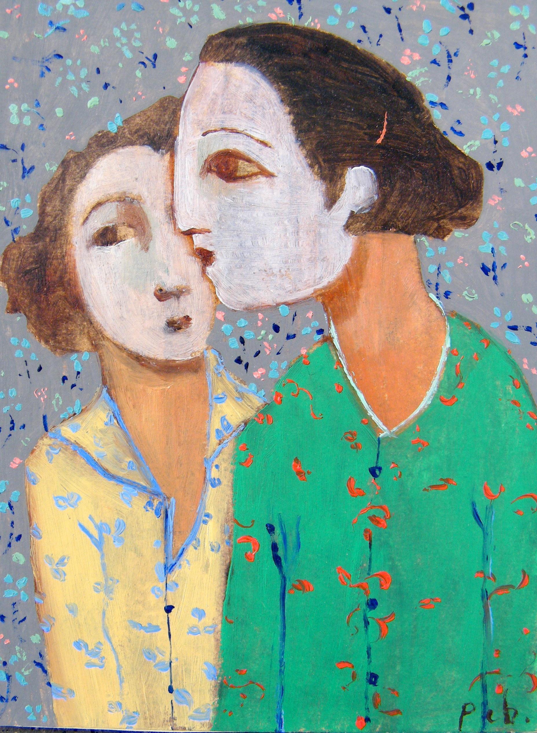 peinture de Perrine Chartrain