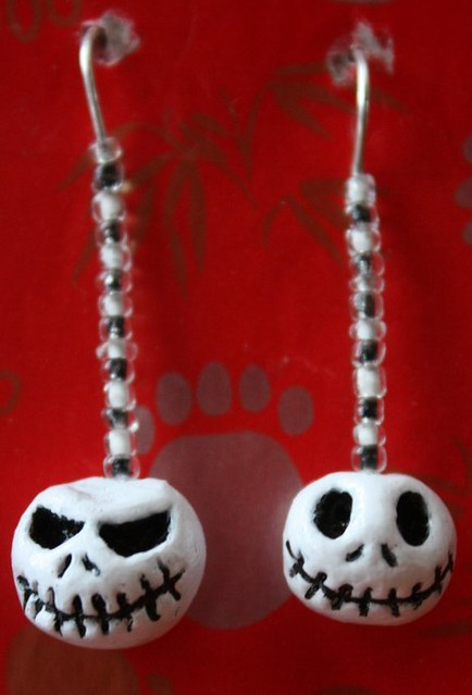 pendientes: Jack, Nightmare Before Chritsmas