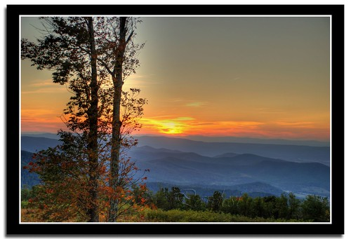 Sunset at Appalachian Trail