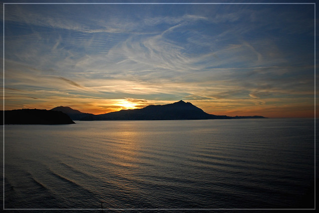 Sunset from Punta Serra (Procida)