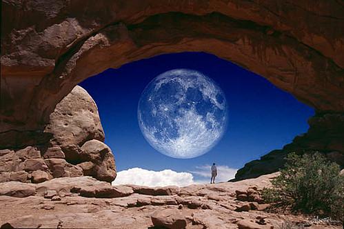 eye on the moon