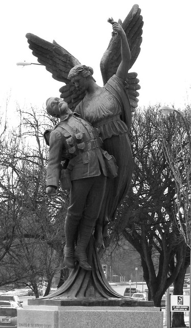 Wm Harvey Set Photo 24: CPR Winged Angel Monument (2)