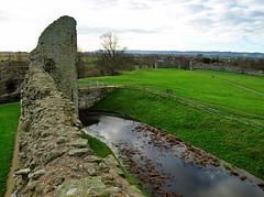 Pevensey Castle - Looking Down
