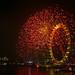 london eye: new year 2007/8 by heartreef