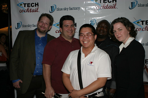 Podcast Crew at TECH cocktail