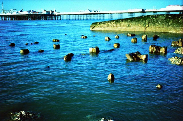 Chain Pier remains