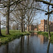 Oxburgh Hall from the river Gadder