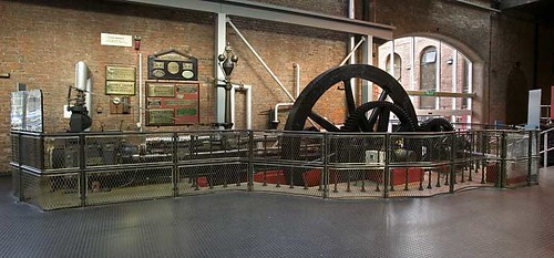 Steam engine used at Durn Mill