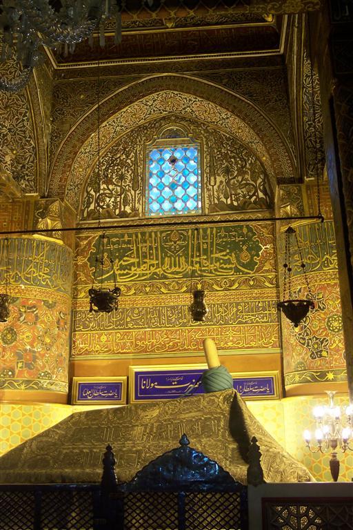 Mezquita de la orden Mevleví - Tumba de Jalal al-Din Muhammad Rumi konya - 2512737665 f207039f03 o - Konya, el cinturón religioso de Turquía