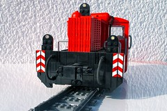 Köf 2 Narrow Gauge in Lego (Scale 1:25)