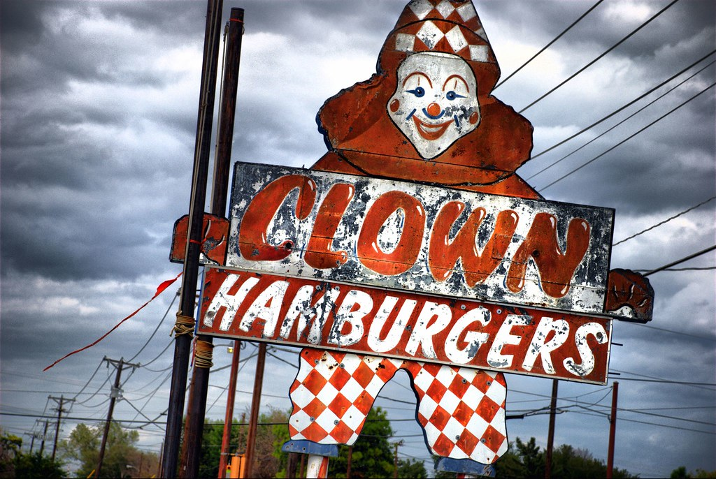 clown burger
