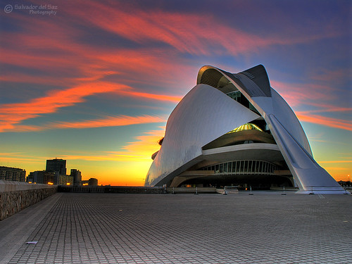 The Valencia's Opera House at dawn