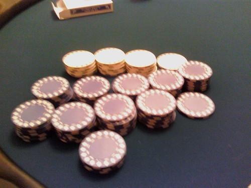 My poker winnings