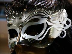 hockey protective equipment(0.0), clothing(0.0), goaltender mask(0.0), costume(0.0), headgear(0.0), masque(1.0), head(1.0), mask(1.0),