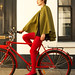 Bicycle Cape by Velovotee