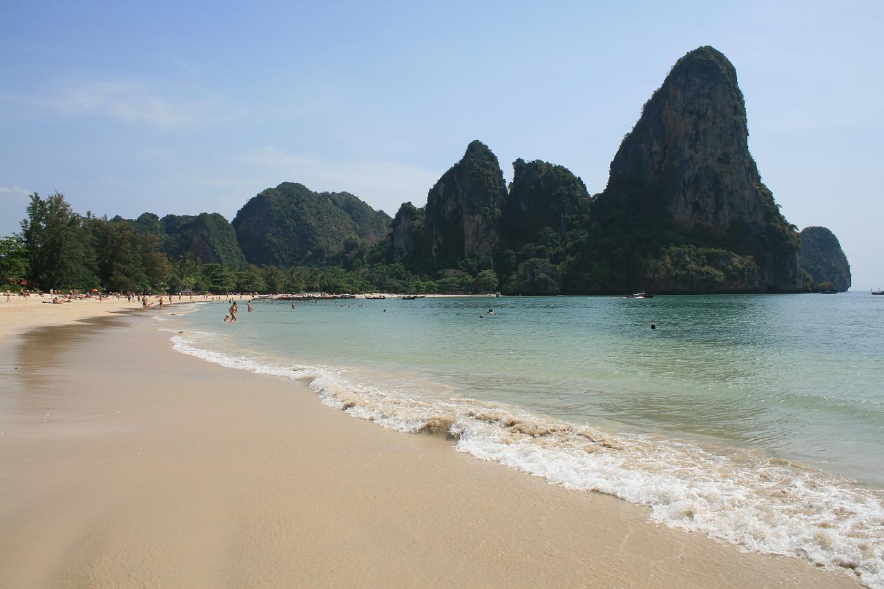пляж Railey таиланд