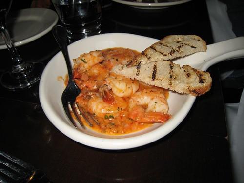 sfkossacks, shrimp, andalu, toast, fork IMG_2323