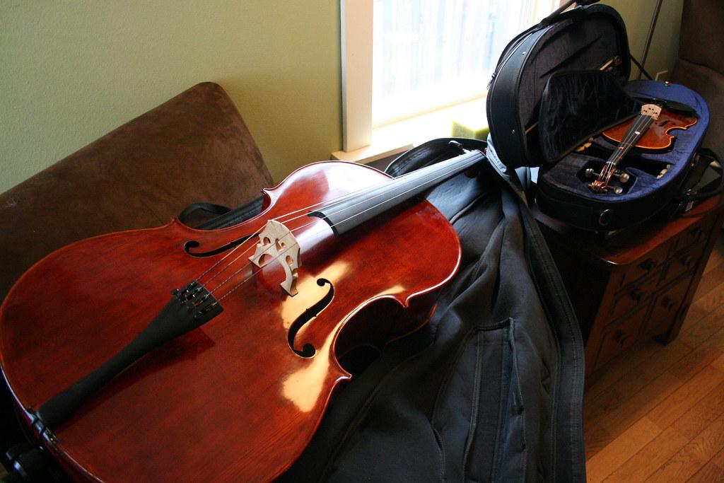 Cello! Violin! YUMMY
