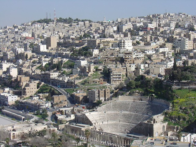 Roman Theater Amman View from Citadel