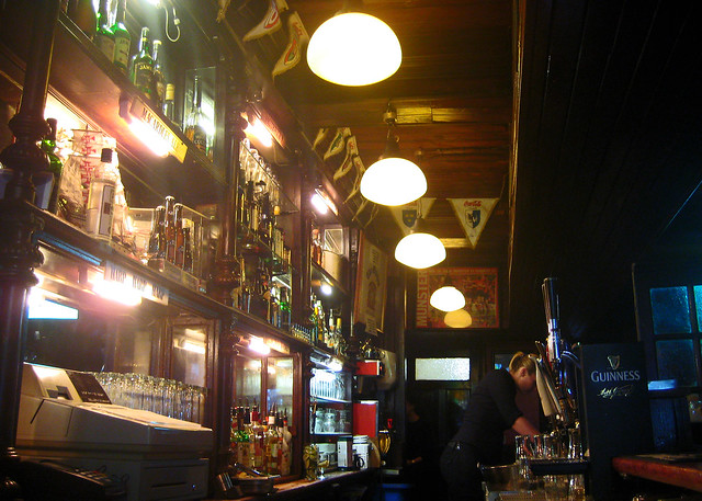 An atmospheric Irish bar in the heart of Dublin.