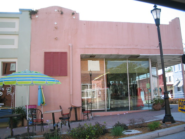 Pink Commercial Building Brooksville Fl Flickr Photo