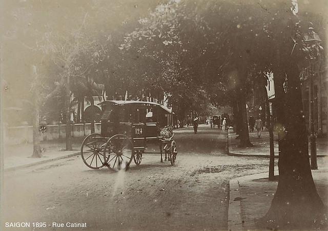 SAIGON 1895 - Rue Catinat