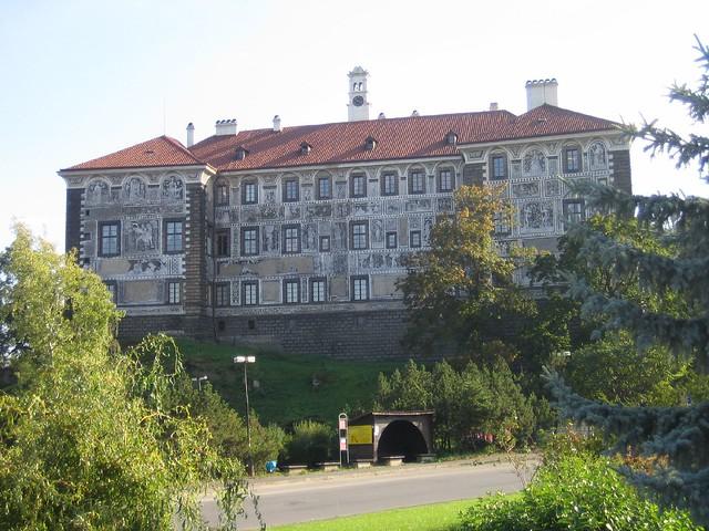 Zámek Nelahozeves. Czech Republic