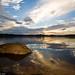 Sunrise over Lake Wivenhoe by David de Groot