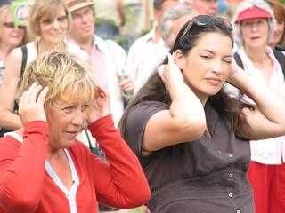 Carol Klein and Rachel de Thame at Tatton Park RHS show  2006