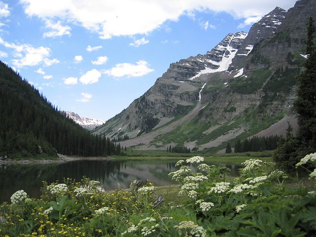 maroon bells lake at - photo #16