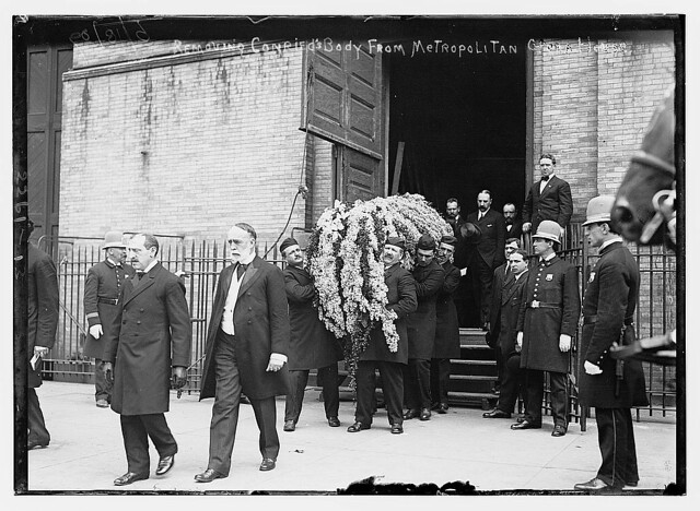 Removing Conried's body from Metropolitan Opera House  (LOC) from Flickr via Wylio
