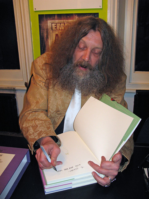 Header of Alan Moore
