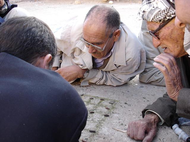 A tense m'Sabaa match in Ah Frah فرحيون يلعبون أم سبعة