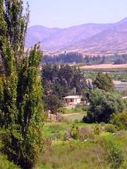 Las Rojas, entrada al valle de Elqui