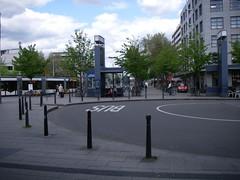 This is a true public transit interface hub