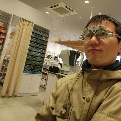 ジンズでメガネ作り