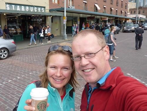Seattle - first Starbucks store