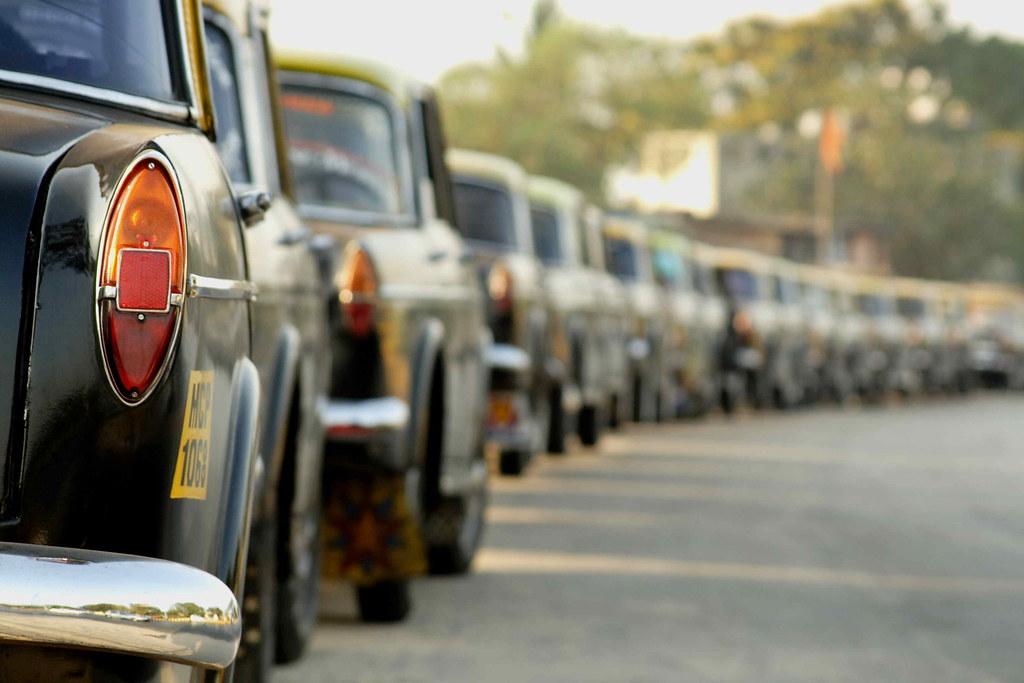 Taxis at Mumbai