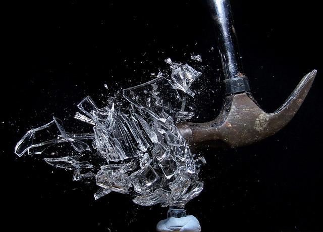 Broken Glass Painting Videos