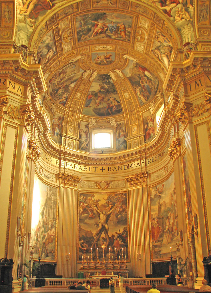 St Andrew's church in Rome | Flickr - Photo Sharing!